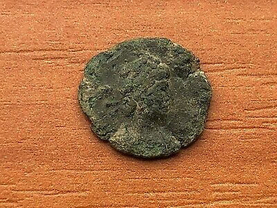Roman Empire - Theodosius II 408-450 AD AE4 Two Emperors Ancient Roman Coin