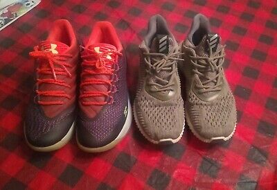 Adidas alphabounce and currys size 9 no box's both included in sale