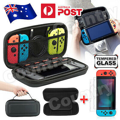 For Nintendo Switch Carrying Case Bag Screen Protector Cover Accessories NEW