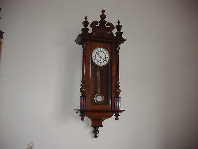 Antique Vienna Regulator Junghams Wall Clock