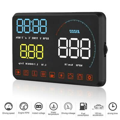 HUD A9 5,5 Zoll Auto Diagnose ODB2 Head Up Anzeige System Speed Display