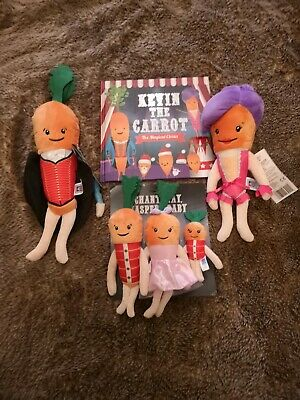 Brand New Aldi Kevin The Carrot And Family Circus 2019 Plus Official Book