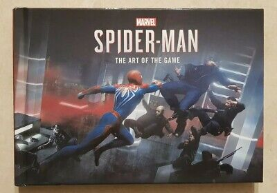 Marvel Spider-Man (PS4) - Art Of The Game Hardcover