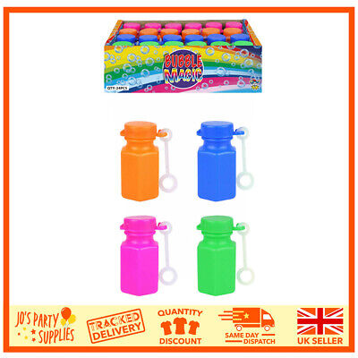 Childrens Kids Girls Boys Bubble Tubs Party Bag Fillers Wedding Favours