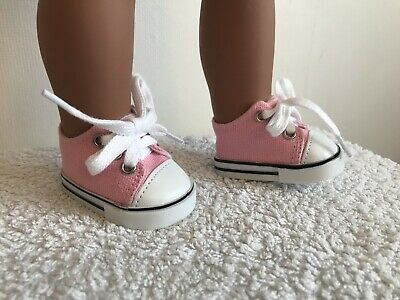 "18"" Inch Doll Girl Pink Trainers Shoes American Girl Our Generation"