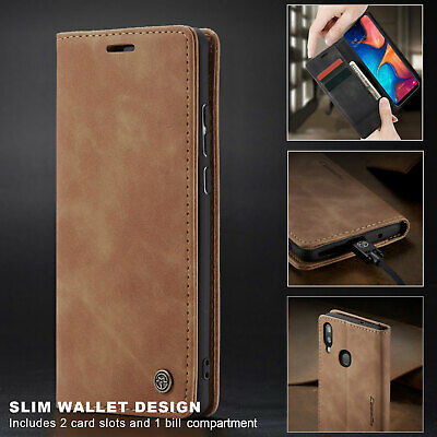 For Samsung Galaxy A20 A30 A50 A70 Leather Wallet Flip Phone Case Cover