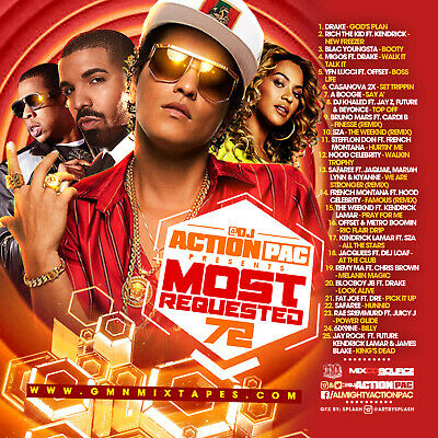 Dj Action Pac - Most Requested 72 (Mix Cd) Drake, Blac Youngsta, Migos, Casanova