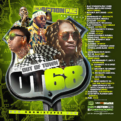 Dj Action Pac - Out Of Town 68 (Mix Cd) Blac Youngsta, Moneybagg Yo, Gucci Mane