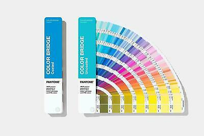 Pantone Color Bridge Guides Coated & Uncoated GP6102A - 2019 Edition BRAND NEW