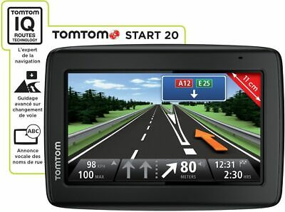 Gps Tomtom Start Navigation Automobile Cartes France & Europe + Alertes Radars