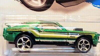 Hot Wheels - 2014  Green -  '70 Ford Mustang Mach 1 -Hw City Series Mint On Card