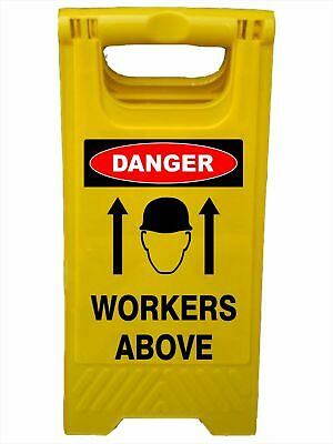 A-Frame Signs -  CAUTION WORKERS ABOVE DETAILED