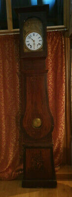 Antique French Comtoise Morbier Grandfather Clock