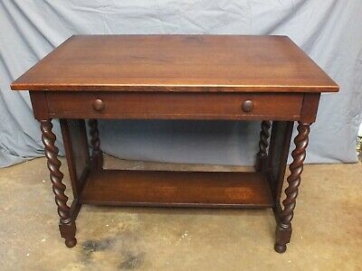 Antique Stickley Brothers Quaint Tudor Mission Oak Table Arts & Crafts #2726