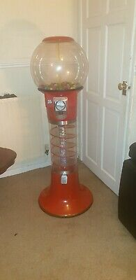 5 Ft Wizard Bubblegum Gumball Gobstopper Machine