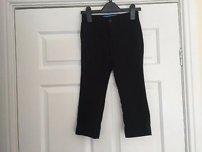 Boys Next school trousers Black size 4 yrs  Nice clean Con