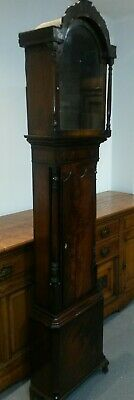 antique 1830s mahogany grandfather clock case UK delivery available