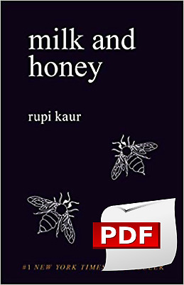 Milk and Honey ✅(€-book-P.D.F)✅Fast shipping✅By Rupi Kaur