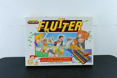 Vintage & Retro Spear's Games Flutter Board Game - 1986 Edition - 2 to 6 Players