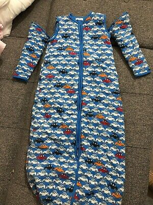 Baby Boy Sleeping Bag with Sleeves 6-18 months Super Warm