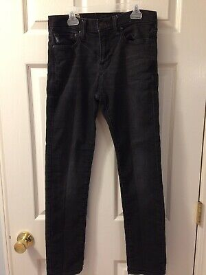 Abercrombie & Fitch Boys/Mens Faded Black Jeans 28W x 30L