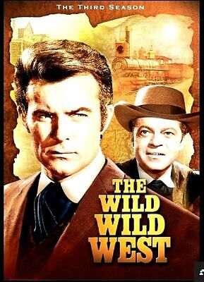 The Wild Wild West COMPLETE Third Season 3 (DVD 6 DISC SET) NEW! FREE SHIPPING