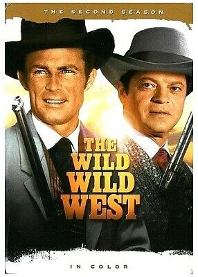 The Wild Wild West COMPLETE Second Season 2 (DVD 7 DISC SET) NEW FREE SHIPPING