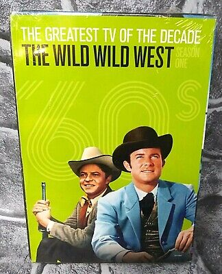 The Wild Wild West COMPLETE First Season 1 DVD COLLECTORS EDITION NEW SHIPS FREE