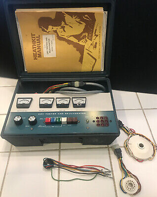 Heathkit Crt Tester And  Rejuvenator Model It-5230