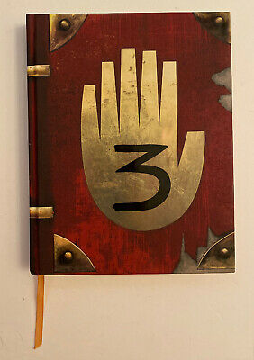 Gravity Falls: Journal 3 Edition by Hirsch and Renzetti Hardcover Disney Press