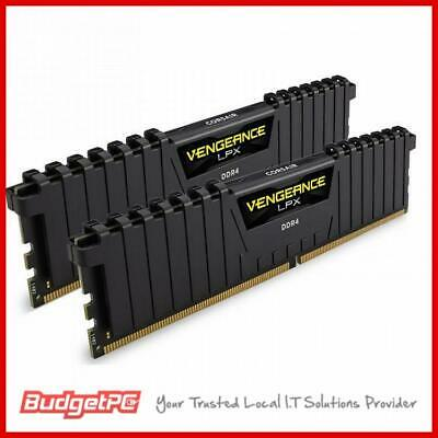 Corsair Vengeance LPX 16GB (2x 8GB) DDR4 2666MHz Memory Black