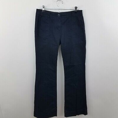 Cabi Women's Step Out Navy Blue Chino Pants Trousers Style 252 Size 4 Work