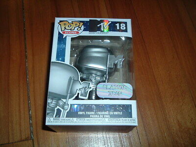 Funko Pop! Mtv Moon Person #18~ Mint Condition~ Icons Series~