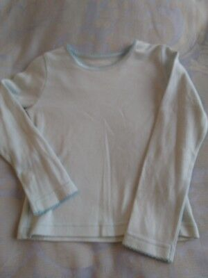 mothercare girls long sleeve blue t shirt age 2-3years BNWOT
