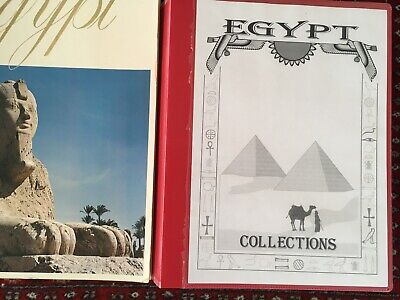 Vintage Collectables about Egypt: private collection of historic prints and book