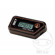 GET C1 Universal Wireless Vibration Sensitive Hour Meter - NEW REVISED EDITION