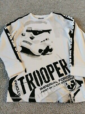 Next Boys Star wars Top Age 6 New Without Tags