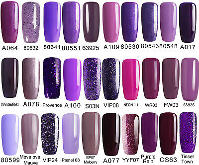 Bluesky Gel Polish Purple / Lilac Popular Sale Uv Led Soak Off, Any 2=File+Wipes
