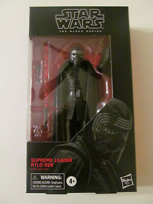 Star Wars: The Black Series - #90 - Supreme Leader Kylo Ren - 6-Inch - Sealed