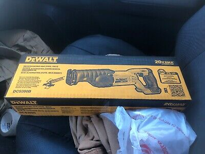 Dewalt Dcd380b New Box Never Opened Reciprocating Saw Tool Only