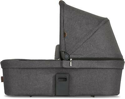 ABC Design DIAMOND EDITION ZOOM TANDEM CARRYCOT ASPHALT Double Pram BNIP