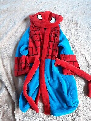 Boys Spiderman Dressing Gown 3-4 Years