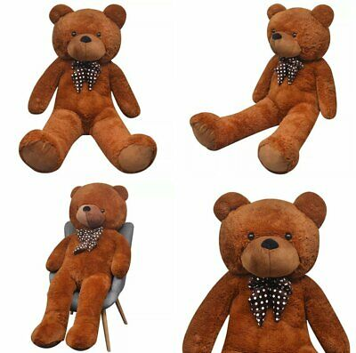 200/260cm Large Great Giant Big Brown Teddy Bear Plush Soft Toys Doll Best Gift