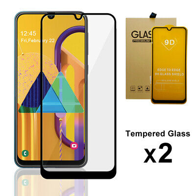 For Samsung Galaxy A20 A30 Full Cover Tempered Glass Screen Protector