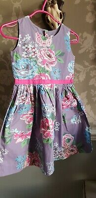Beautiful Mini Boden Girls Flower Dress Age  5 to 6 years