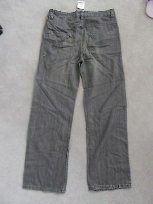 Next Boys Jeans Age 16 Black/grey BNWT