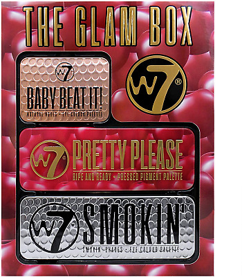 W7 The Glam Box Makeup Palette Gift Set