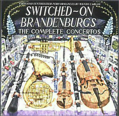 Wendy Carlos - Switched on Brandenburgs   2CD-SET