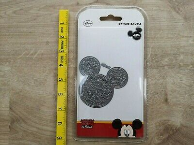 Disney Mickey Mouse /& Friends Ornate Bauble craft die
