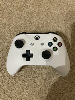 Microsoft Official Xbox One Wireless Controller - White